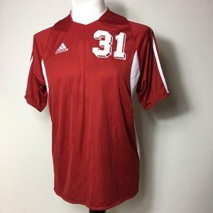 Adidas soccer jersey #31 men's shirt medium